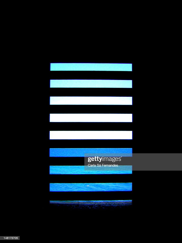 Behind bars : Stock Photo