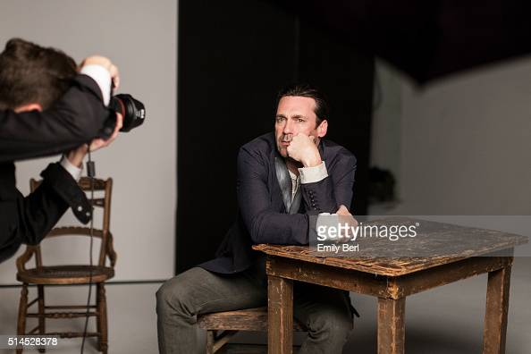 Behind the scenes of The Hollywood Reporter Drama Actor Roundtable with John Hamm for The Hollywood Reporter on March 30 2014 in Los Angeles...