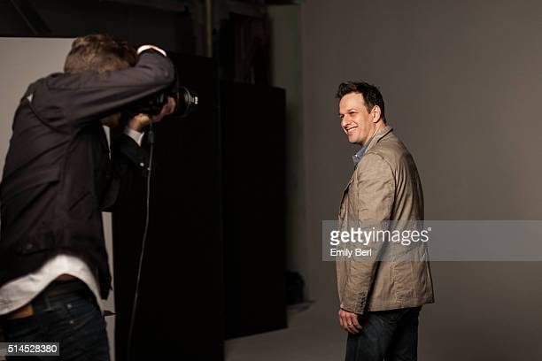 Behind the scenes of The Hollywood Reporter Drama Actor Roundtable with Josh Charles for The Hollywood Reporter on March 30 2014 in Los Angeles...