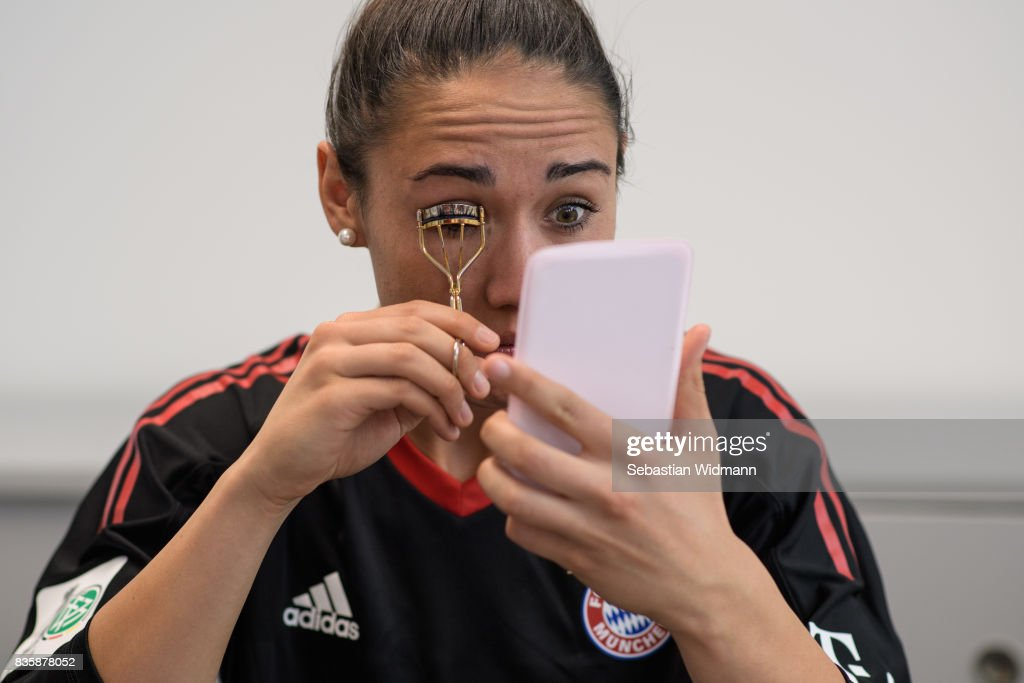 A behind the scenes view pictured during the Allianz Frauen Bundesliga Club Tour at FC Bayern Campus on August 20, 2017 in Munich, Germany.