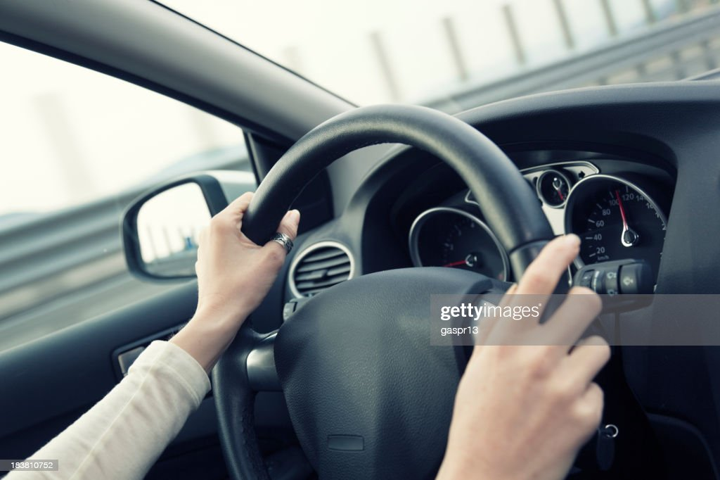 behing the wheel