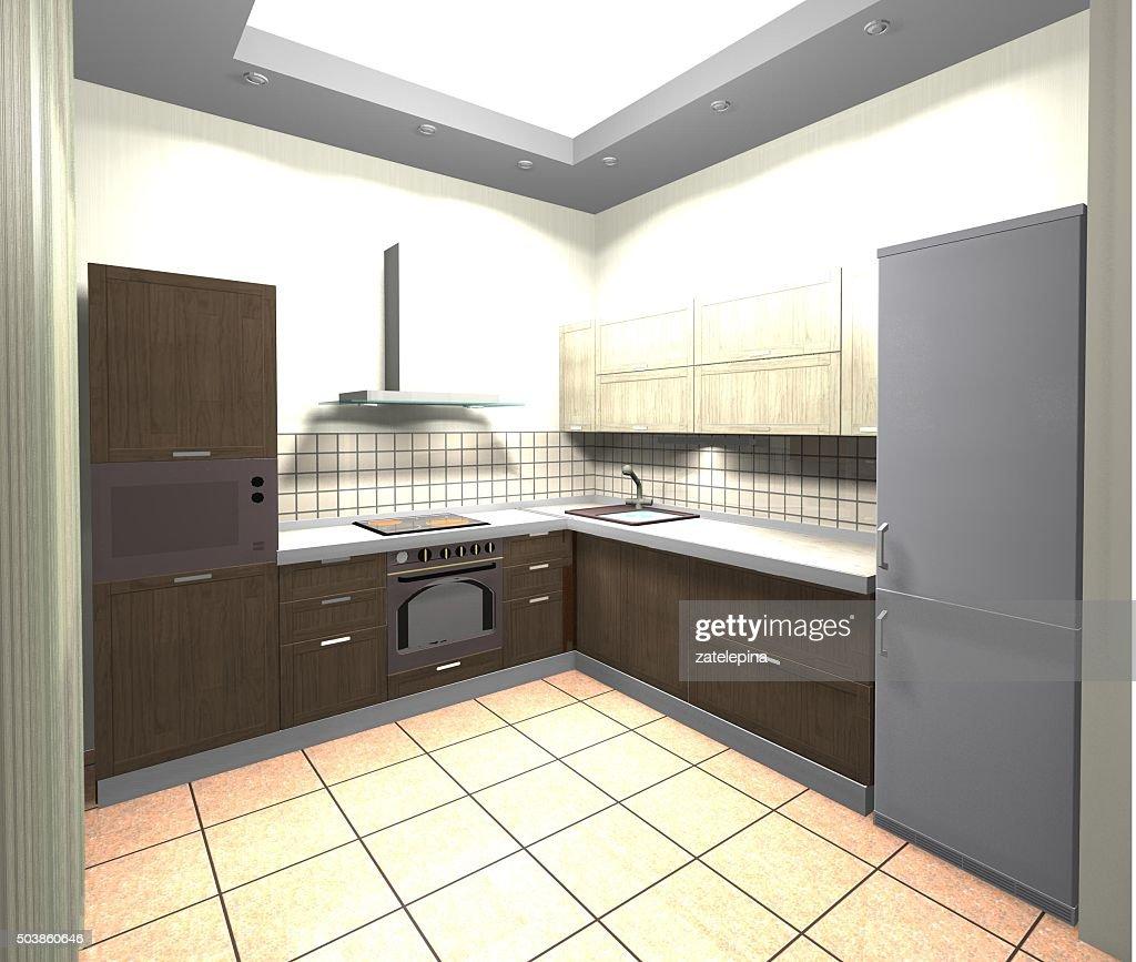 Ikea Diseo Cocina 3d. Diseo De Cocina De Spailux Cuines Con Campana ...