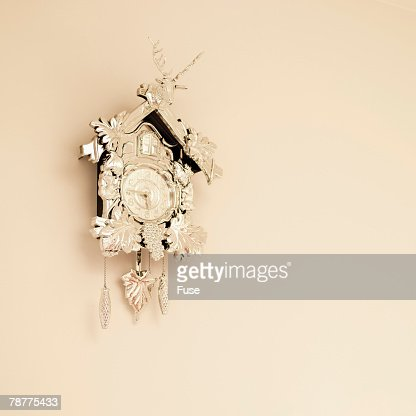 Beige Cuckoo Clock