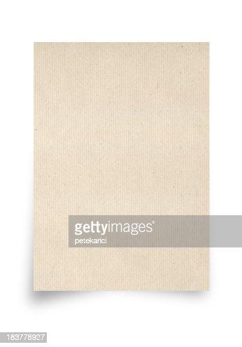 Beige Paper