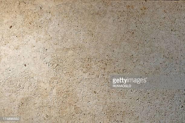 Beige romana textura de pared, Roma, Italia