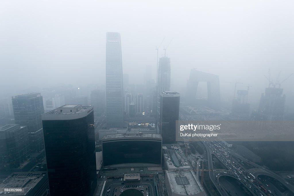 Beijing air pollution