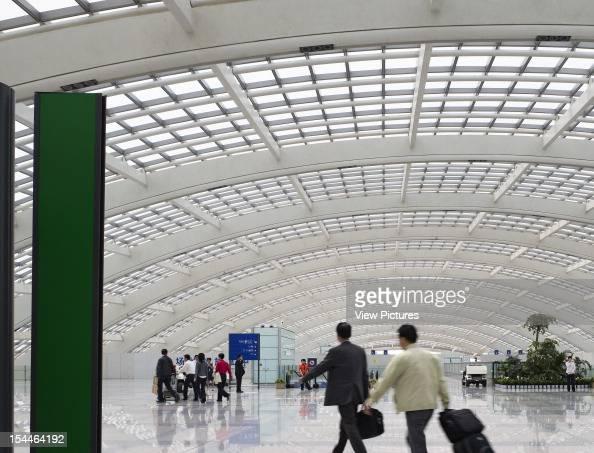 Beijing Capital International Airport Beijing China Architect Foster And Partners Beijing Capital International Airport Foster And Partners Transit...