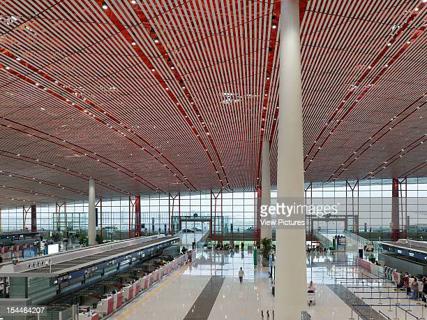 Beijing Capital International Airport Beijing China Architect Foster And Partners Beijing Capital International Airport Foster And Partners Check In...