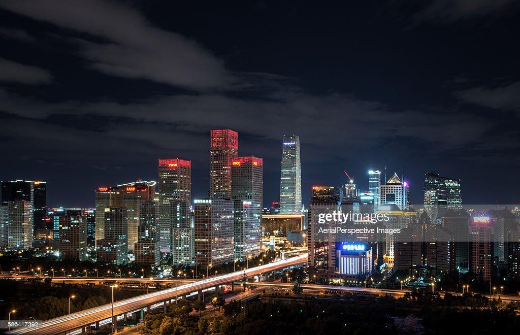 Beijing CBD Area