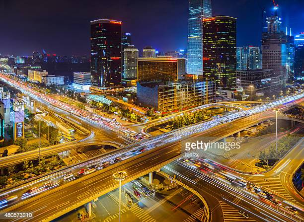 Beijing Central Business district buildings skyline