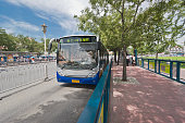Beijing, China. South Axial Bus Rapid Transit