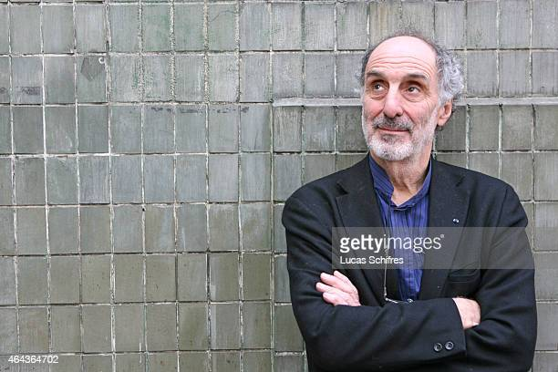 Beijing National Grand Theatre's architect Paul Andreu poses for a photograph on March 10 2008 in Shanghai China Andreu is the architect of Beijing's...