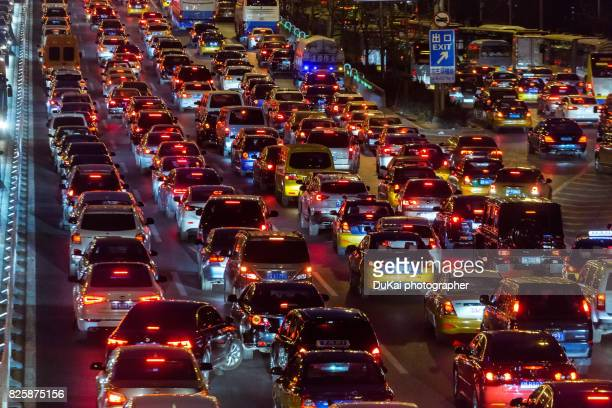 Beijing traffic congestion