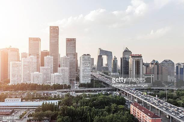 Beijing Urban Skyline