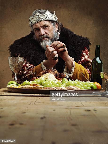 Ser King tem as suas vantagens