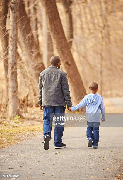 Being there for his son every step of the way