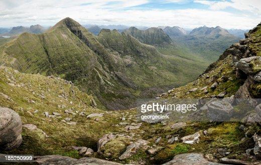 Beinn Alligin and the Torridon Mountains