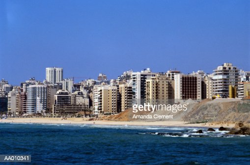 Beirut Skyline : Stock Photo