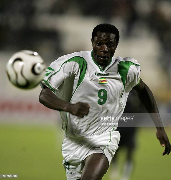 Bejani Mwariwari of Zimbabwe during The African Cup of Nations Group D match between Ghana and Zimbabwe at The Ismailia Stadium on January 31 2006 in...