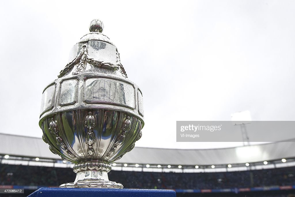 Beker Dutch Cup during the Dutch Cup Final match between PEC Zwolle and FC Groningen on May 3 2015 at the Kuip stadium in Rotterdam The Netherlands