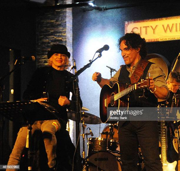 Bekka Bramlett and John Oates performs at City Winery for An Acoustic Evening With John Oates A Concert Celebrating his DVD Release on January 21...