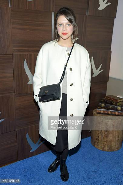 Bel Powley at The Diary of a Teenage Girl Cast Party at the GREY GOOSE Blue Door during Sundance on January 24 2015 in Park City Utah