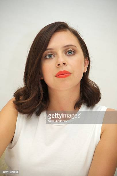 Bel Powley at 'The Diary Of A Teenage Girl' Press Conference at the Four Seasons Hotel on July 27 2015 in Beverly Hills California