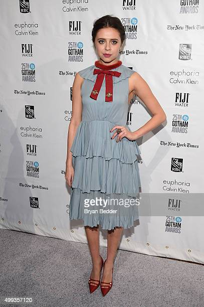 Bel Powley attends the 25th IFP Gotham Independent Film Awards cosponsored by FIJI Water on November 30 2015 in New York City
