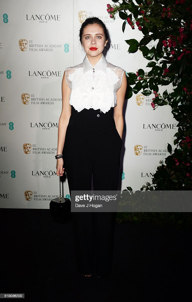 <a gi-track='captionPersonalityLinkClicked' href=/galleries/search?phrase=Bel+Powley&family=editorial&specificpeople=6536260 ng-click='$event.stopPropagation()'>Bel Powley</a> attends the Lancome BAFTA nominees party at Kensington Palace on February 13, 2016 in London, England.