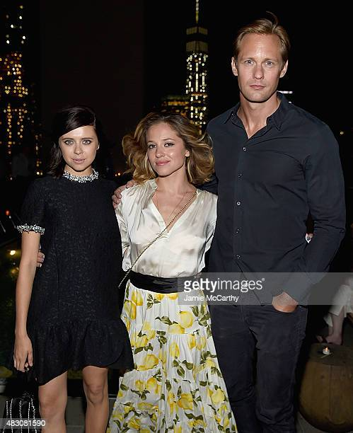 Bel PowleyMargarita Levieva and Alexander Skarsgard attend the after party for the screening of Sony Pictures Classics 'The Diary Of A Teenage Girl'...