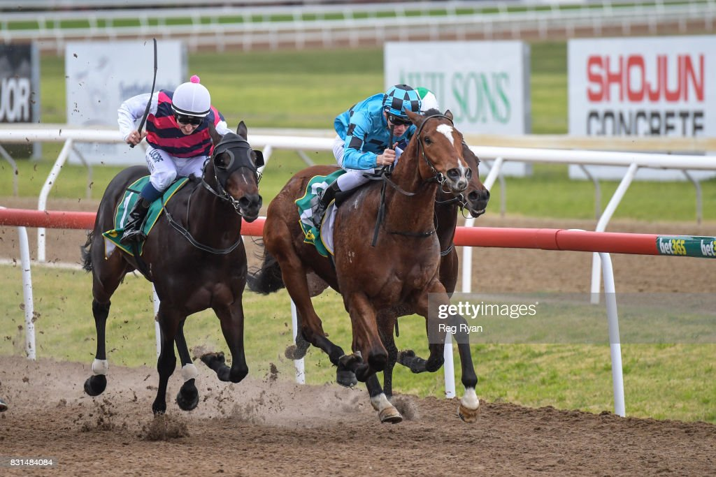 Bel Sonic ridden by Ben Melham wins the bet365 SV 3YO Maiden Plate at Geelong Synthetic Racecourse on August 15, 2017 in Geelong, Australia.