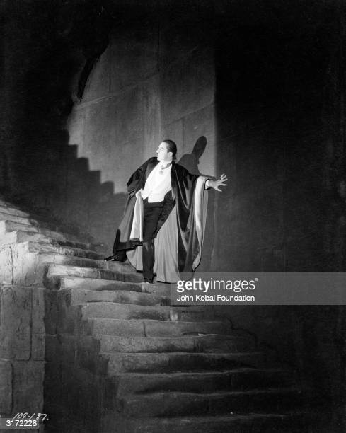 Bela Lugosi plays the vampire count in 'Dracula' directed by Tod Browning