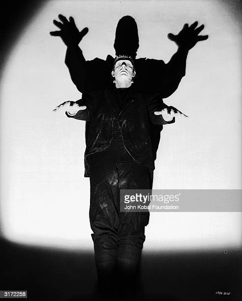 Bela Lugosi takes his turn as Frankenstein's monster in 'Frankenstein Meets the Wolf Man' directed by Roy William Neill