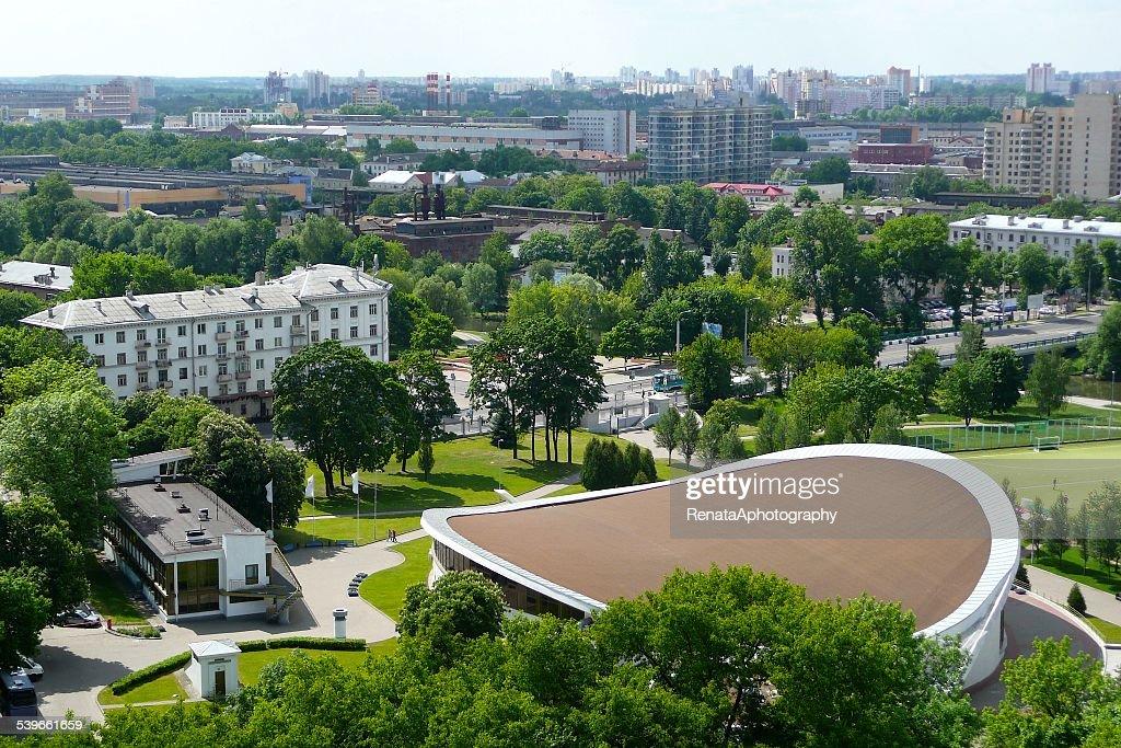 Belarus, Minsk, View of city