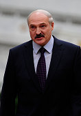 Belarus President Alexander Lukashenko attends the peace talks over the situation in Eastern Ukraine with the participation of Ukrainian President...