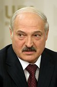 Belarussian President Alexander Lukashenko speaks during a bilateral meeting at the BRICS 2015 Summit on July 8 2015 in Ufa Russia Leaders of China...