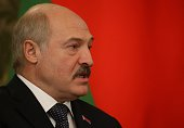 Belarussian President Alexander Lukashenko speaks during a bilateral meeting in the Grand Kremlin Palace on December 15 2015 in Moscow Russia...