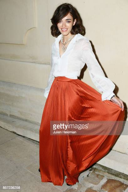 Belen Chavanne attends the Chanel 'Code Coco' Watch Launch Party as part of the Paris Fashion Week Womenswear Spring/Summer 2018 on October 3 2017 in...