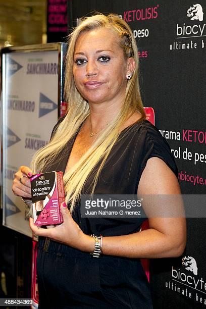 Belen Esteban attends 'Ketolysis' presentation at Hipercor on May 6 2014 in Madrid Spain