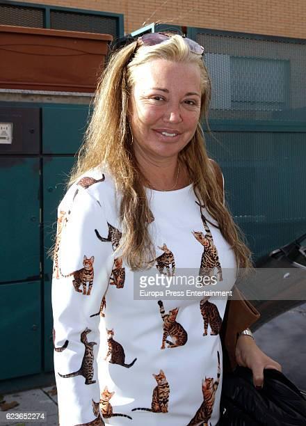Belen Esteban is seen on November 9 2016 in Madrid Spain