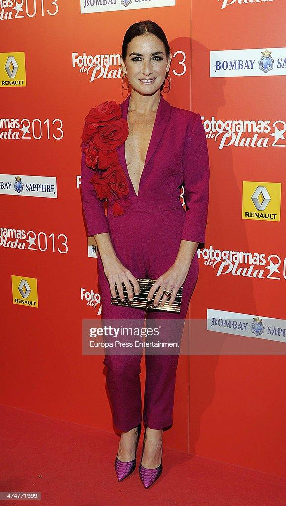 Belen Lopez attends Fotogramas Awards 2013 at Joy Eslava Club on February 24 2014 in Madrid Spain