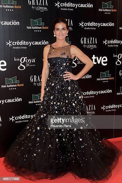 Belen Lopez attends Goya Cinema Awards 2014 after party at Centro de Congresos Principe Felipe on February 9 2014 in Madrid Spain