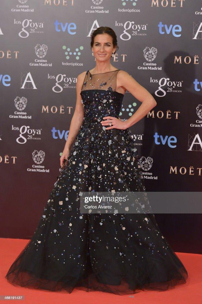 Belen Lopez attends Goya Cinema Awards 2014 at Centro de Congresos Principe Felipe on February 9, 2014 in Madrid, Spain.