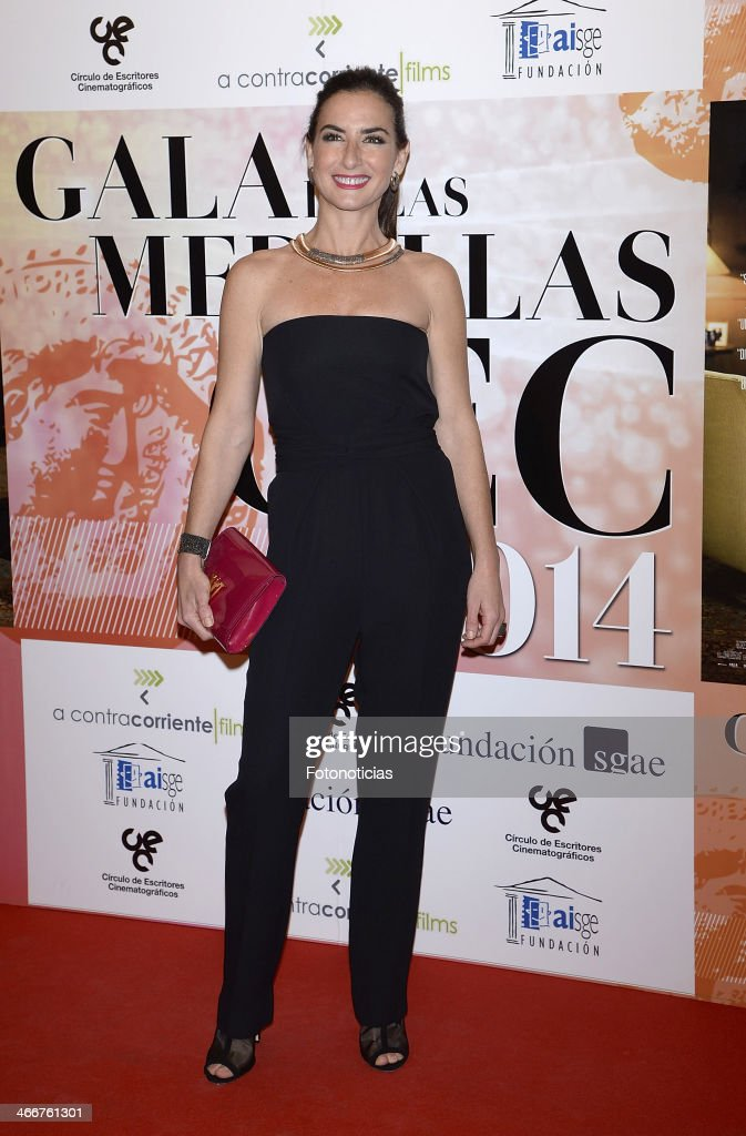 Belen Lopez attends the 'CEC' medals 2014 ceremony at the Palafox cinema on February 3, 2014 in Madrid, Spain.