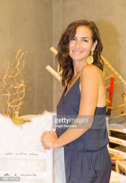 Belen Lopez attends the presentation of the charity initiative 'Tu Silla Su Refugio'