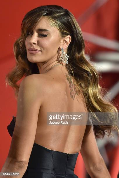 Belen Rodriguez attends 'Pasolini' Premiere during the 71st Venice Film Festival at Sala Grande on September 4 2014 in Venice Italy