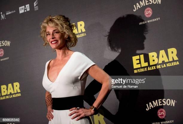 Belen Rueda attends 'El Bar' premiere at Callao cinema on March 22 2017 in Madrid Spain