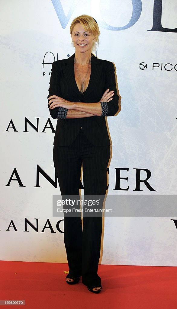 Belen Rueda attends 'Venuto Al Mondo' premierte at Capitol Cinema on January 10, 2013 in Madrid, Spain.