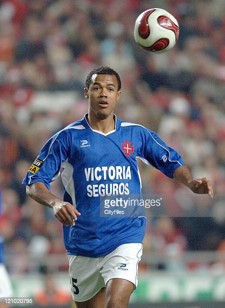 Belenenses' Nivaldo in action during the Portuguese Bwin League match against Benfica December 21 2006 in Lisbon Portugal