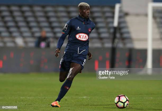 Belenenses's defender Edgar Ie from Portugal in action during the Primeira Liga match between Belenenses and Vitoria Guimaraes at Estadio do Restelo...